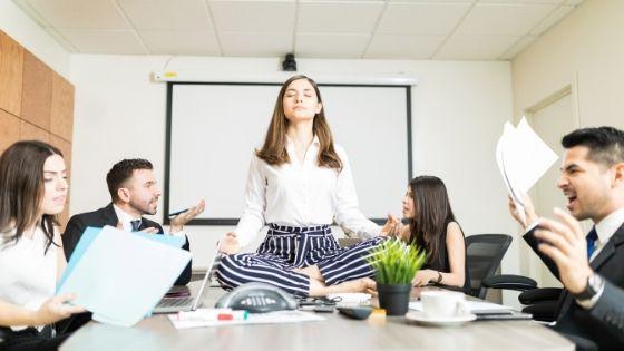 eviter le stress au travail